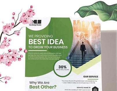 Dev Corporate Business Flyer solution V02