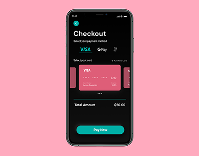 Daily UI Challenge 002: Credit Card checkout
