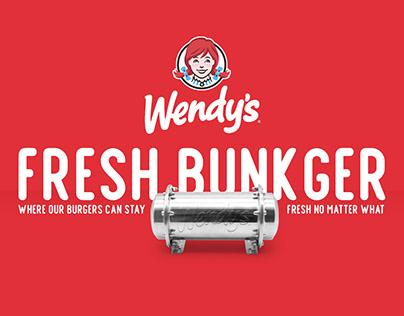Fresh Bunkger. Wendy's.