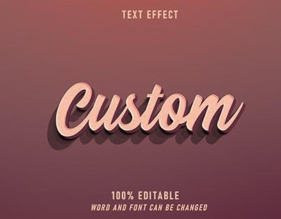 Custom Text Effect