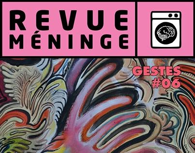 Revue Méninge #06 - Thème : GESTES