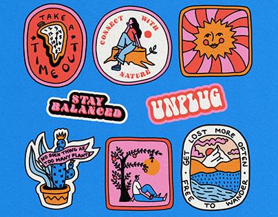 Adobe Live: Illustrated Badge Designs