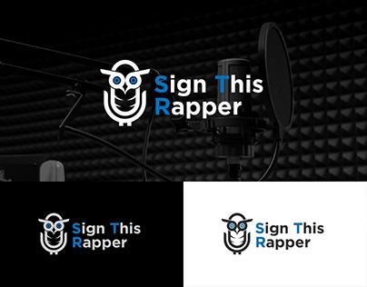 Sign This Rapper Logo Design