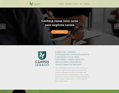 Web Design // Campus Legado