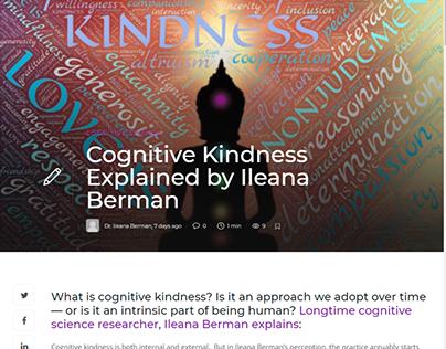 Cognitive Kindness Explained by Ileana Berman