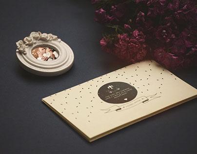 Wedding Invitation | Ellen & Felipe and Gustavo & Rúbia