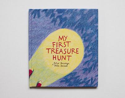 My First Treasure Hunt: A Children's Comic Book