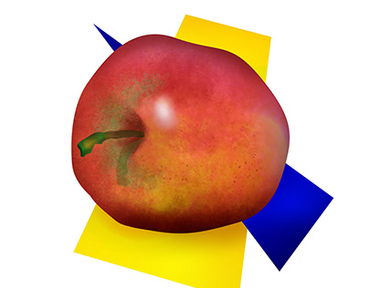 apple drawing practice