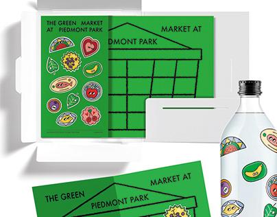 The Green Market at Piedmont Park Atlanta Rebranding