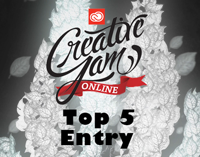 Adobe Creative Jam Online 4th Place