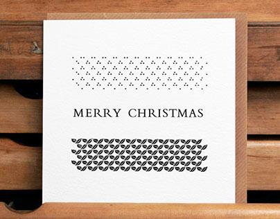 Letterpress cards: design, typesetting & printing