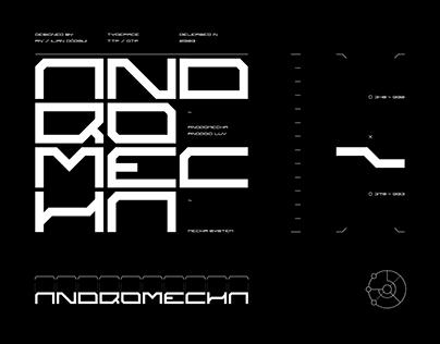Andromecha Typeface