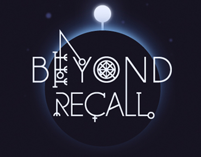 Beyond Recall indie game. Early materials