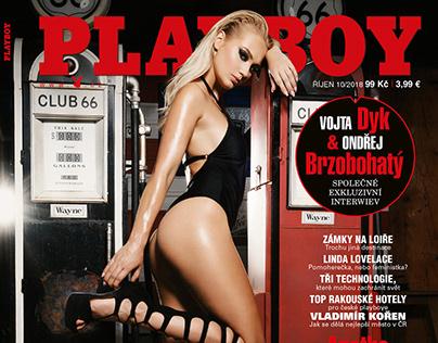 Playboy CZ 2018 Oct Playmate Sarka