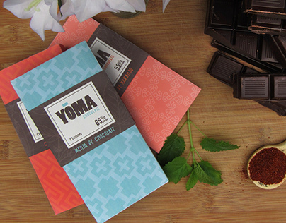 Yoma Chocolate Package Design