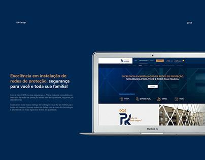 Web site Prime Redes