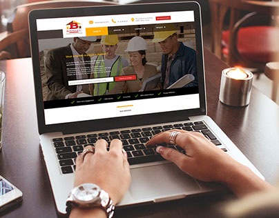 Building web site