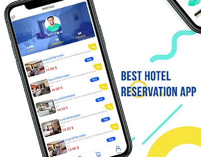 Hotel App Reservation UI