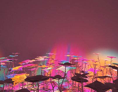 Louis Vuitton inspired art installation