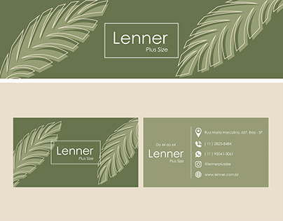 Business card - Lenner Plus Size #1