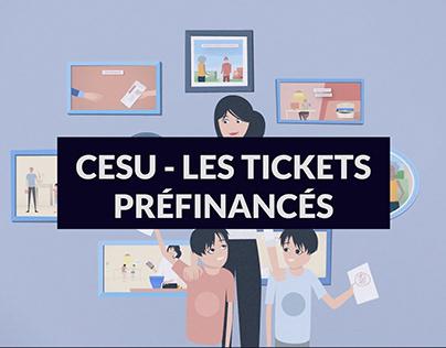 CESU - Les tickets préfinancés