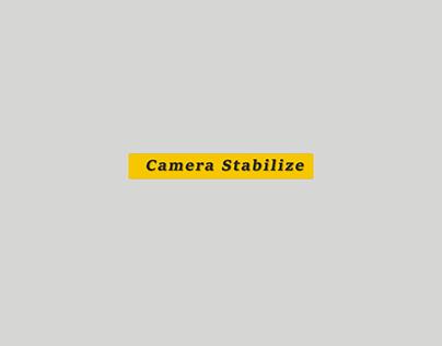 Camera Stabilize