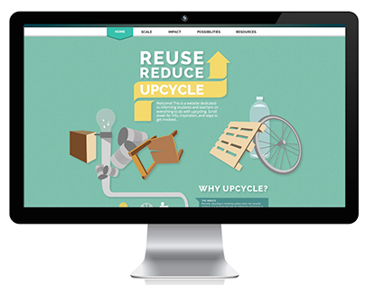 Reuse, Reduce, Upcycle