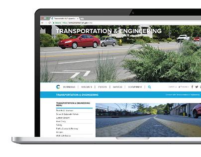 City Website // Information Hierarchy
