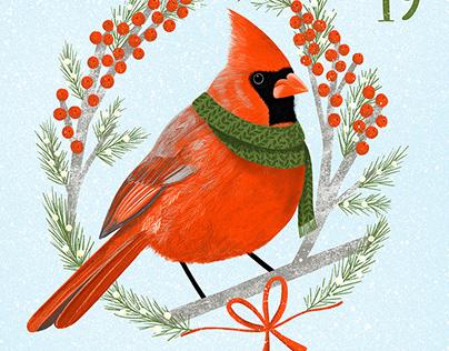 Christmas Bird Advent