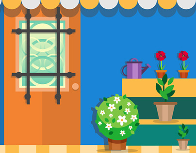 It's all about doors! - Editorial illustration