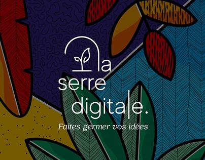 La Serre Digitale - Identité visuelle, signalétique