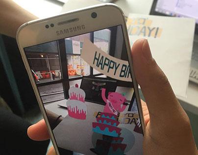 Renegade Cards - Happy Birthday Card (AR)