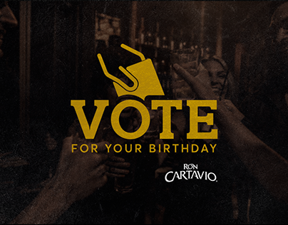 Cartavio Rum - Vote For Your Birthday