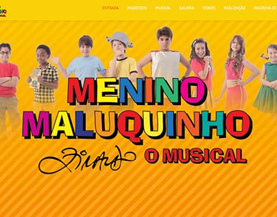 Menino Maluquinho   O Musical