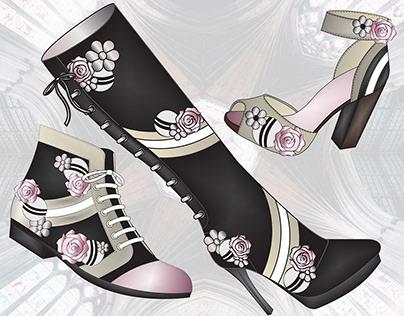 Footwear: Romantic Revival