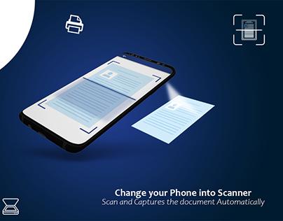 Cam Scanner App Design