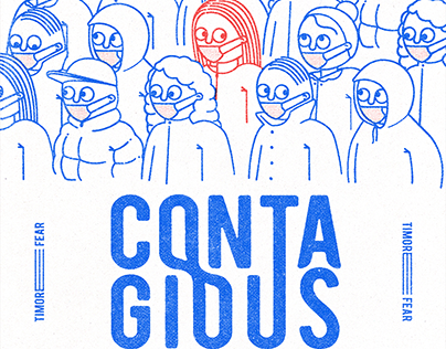 ContagioUS - #CoVid19 - Poster collection