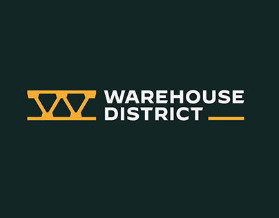 Warehouse District Identity & Website