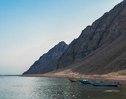 Landscapes in Dahab