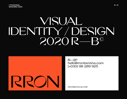 Rron - Visual Identity