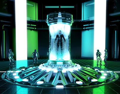 Skan & Tenka - Abyss (3D Project)