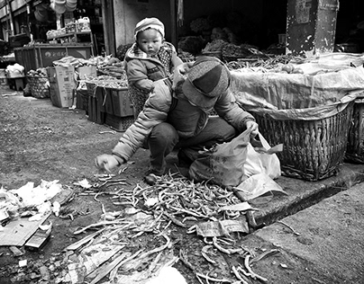 China, Shangri-La bazaar