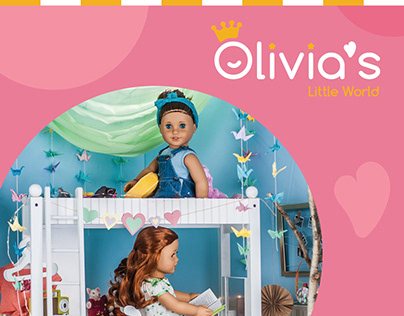 Olivia's Little Word brochure