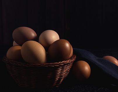 Fotografía huevos