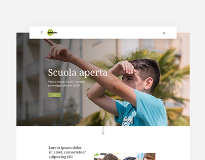 Collegio Arcivescovile - UI & UX Design / Development