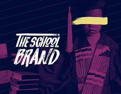 The School Brand - Editorial design.