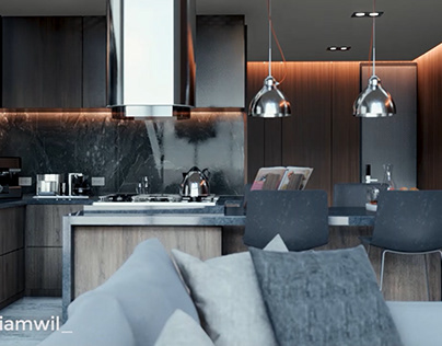 APARTMENT INTERIOR ANIMATION RENDERING by WIL VIZ