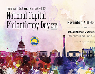 AFP National Capital Philanthropy Day Postcard