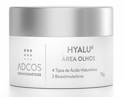 3D Cosmetic Innovation - Hyalu 6 Área Olhos - Adcos