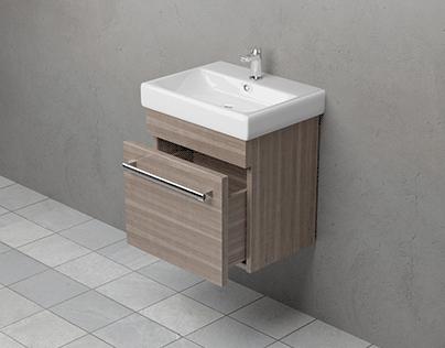 Bathroom fornitures visualization